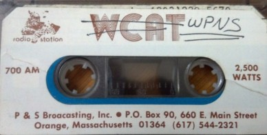 700 AM Orange Massachusetts WCAT WPNS WJOE WVBB WTUB.