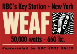 660 New York WEAF WNBC WRCA W2XY WBAY