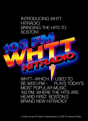 103.3 Boston WEEI-FM