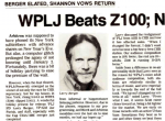 95.5 New York WPLJ Larry Berger