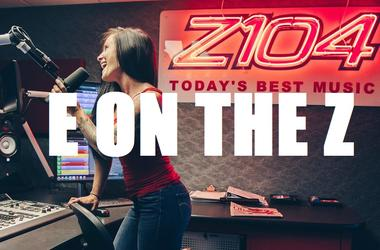E on the Z Z104 WNVZ 104.5 Norfolk