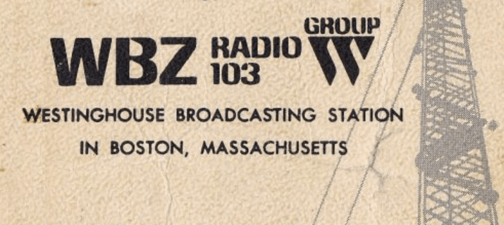 Larry Glick, WBZ Radio 1030 Boston | Feb 1982 - Airchexx