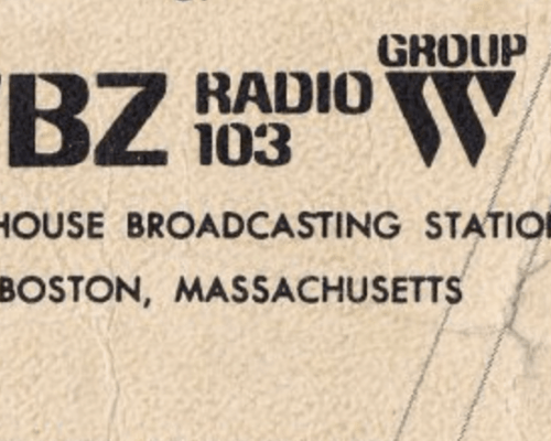 Larry Glick, WBZ Radio 1030 Boston |  Feb 1982