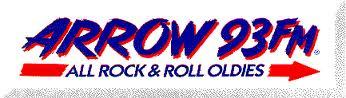 93.1 FM Los Angeles KCBS-FM Arrow 93 Jack-FM