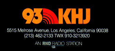 930 AM Los Angeles KHJ KKHJ KRTH