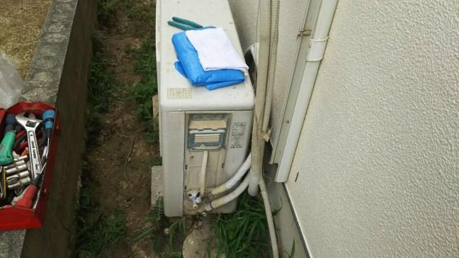 被災地のエアコン無料回収