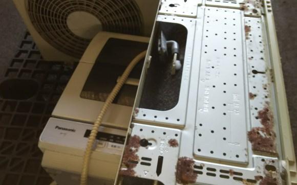 エアコン不用品軽トラ4台分回収