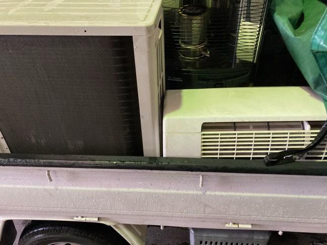南区でエアコン無料回収、不用品回収