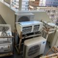東区マンションリフォームの為エアコン5台無料回収