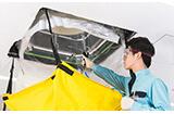 ダスキン業務用エアコン内部洗浄