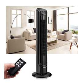 40 Lcd Tower Fan Digital Control Oscillating Cooling Air