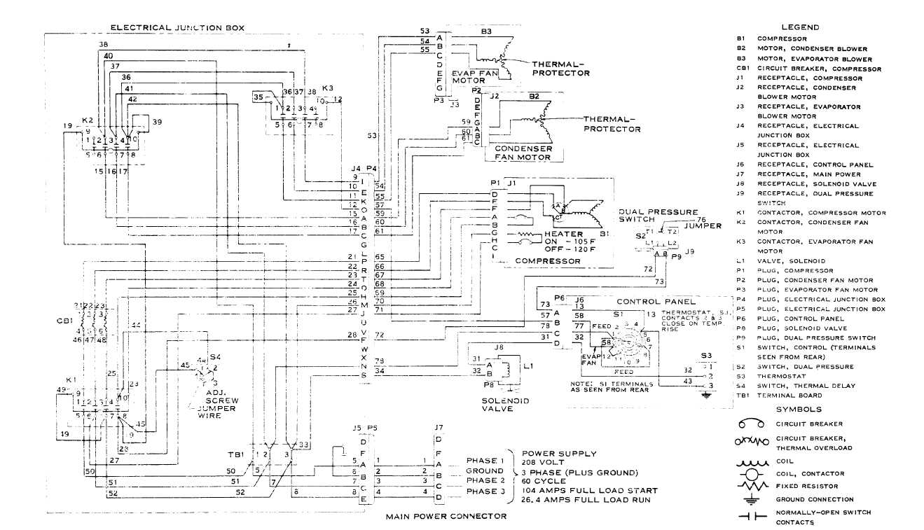 Air Conditioning Trane Xe 800 Wiring Diagram. . Wiring Diagram