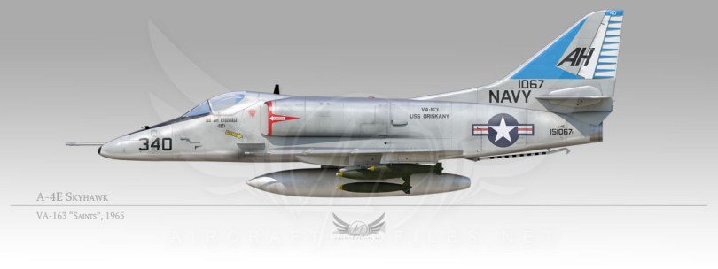 "A-4E Skyhawk, VA-163 ""Saints"", 1965"