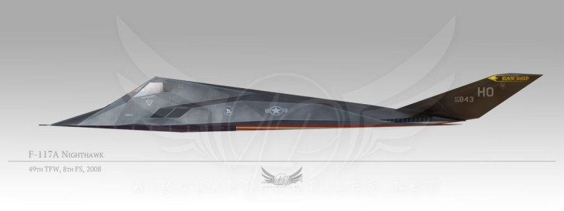 F-117A Nighthawk, 49th Fighter Wing, 8th Fighter Squadron, 2008