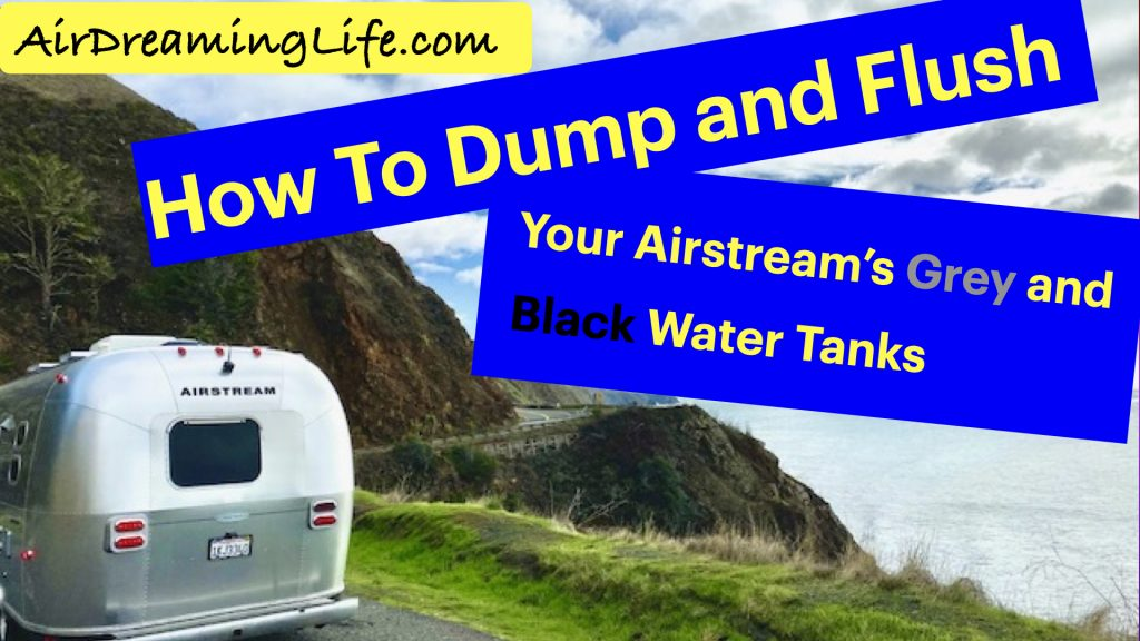 How to flush Airstream black water tank