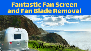 Fantastic Fan Screen Removal and Fan Blade Cleaning