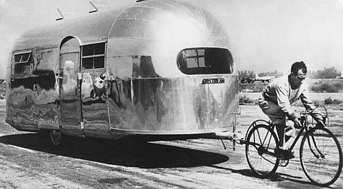 Did someone really tow an Airstream with a bicycle?
