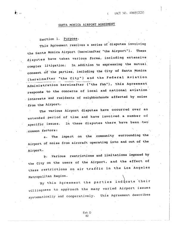 19840131.. Settlement between City of Santa Monica & FAA [KSMO], pg.2