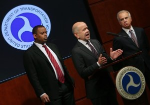 (Foxx, Huerta, and Calio: the program is even more off balance than the photo)