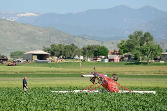 """Crash, plane, vance brand, airport, longmont, 75th, Nelson"""