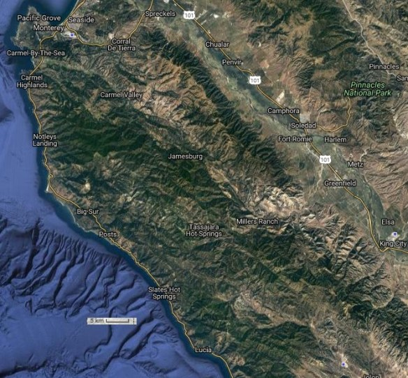 20161008scp-soberanes-fire-area-map-lucia-n-to-pacific-grove-e-to-king-city-flightaware-satview