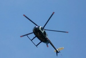 Helo pic (closeup over a backyard)