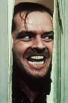 'Here's Johnny!' J.Nicholson pic in The Shining