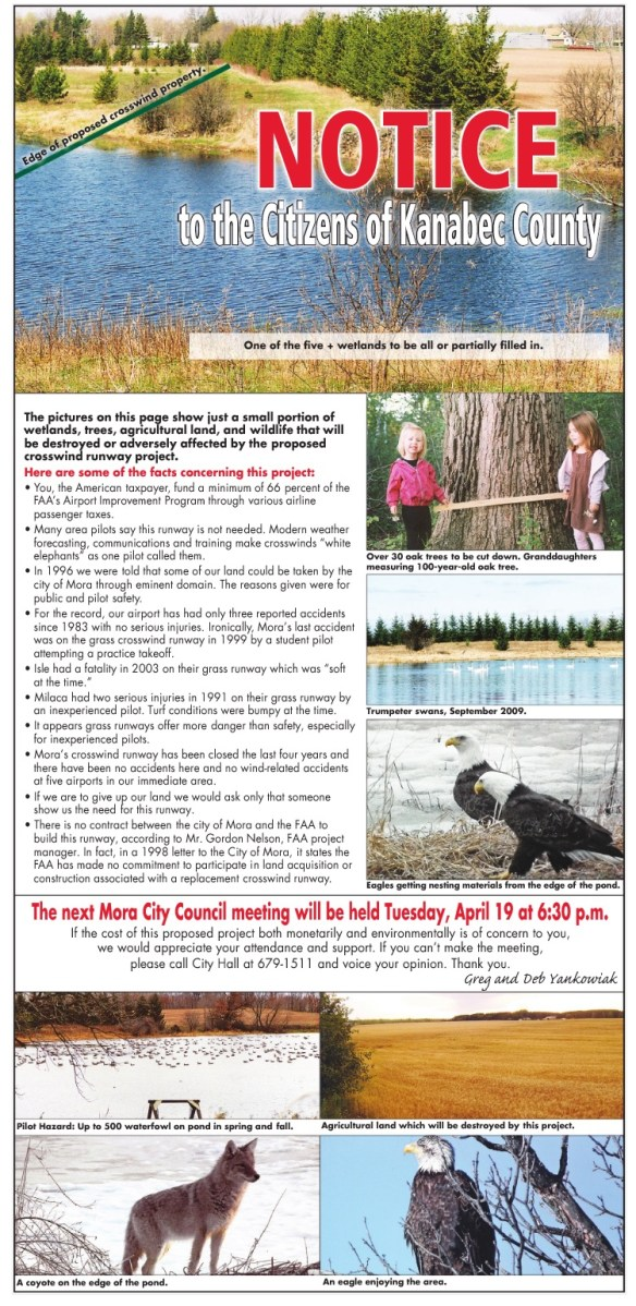 KJMR.20110419scp.. 'Notice to the Citizens of Kanabec County' (full page ad, posted at Scribd by FreedomFoundationMN)