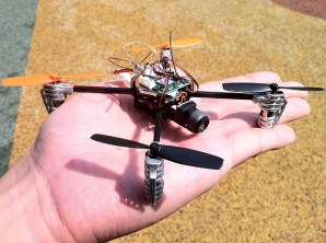 LadyBird-UAV (48gram quadcopter/camera)
