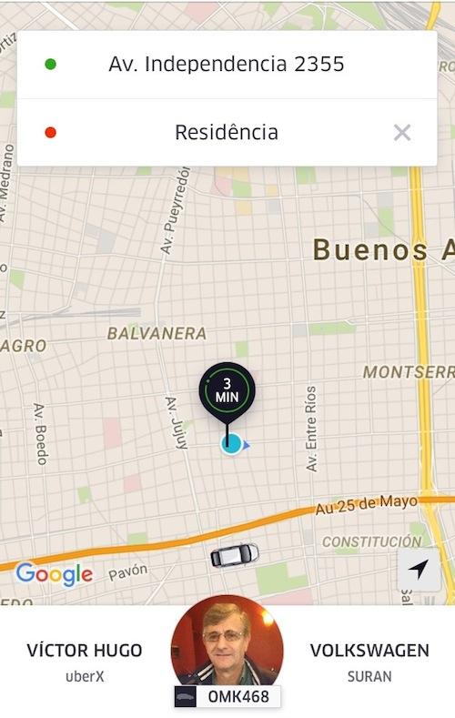 uber em buenos aires