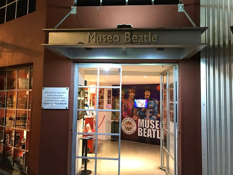 museu dos beatles buenos aires