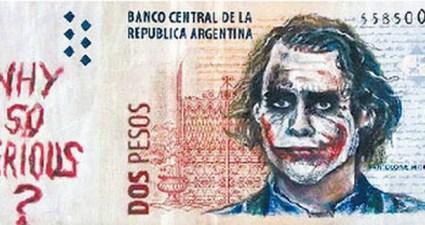 novas notas de pesos argentino