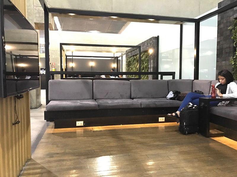 como é a sala vip executive lounge de guarulhos
