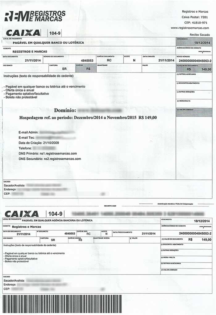 Fraude - Boleto de empresa GOLPISTA