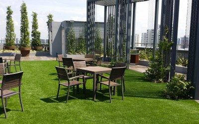 ARTIFICIAL GRASS, SYNTHETIC TURF, airdrain drainage, shockpad