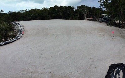 bunker drainage, sand rap drainage, golf drainage, airdrain, sand trap, billy bunker, capcon