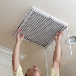 Installed Air Filters