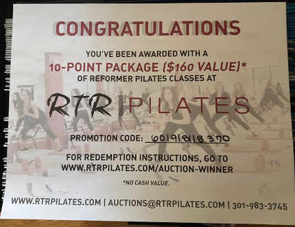 RTR Pilates 10-Point Package Image