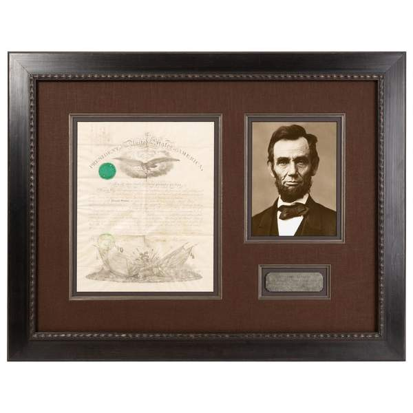 Abraham Lincoln Signed Military Commission, Dated September 9 1861 Image