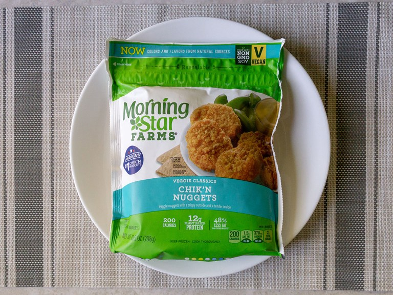 How to air fry MorningStar Farms Chick'N Nuggets