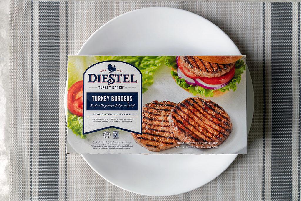 Diestel Turkey Burgers
