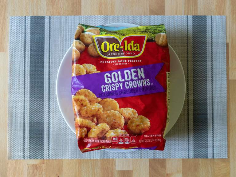 How to cook Ore-Ida Golden Crispy Crowns in the air fryer
