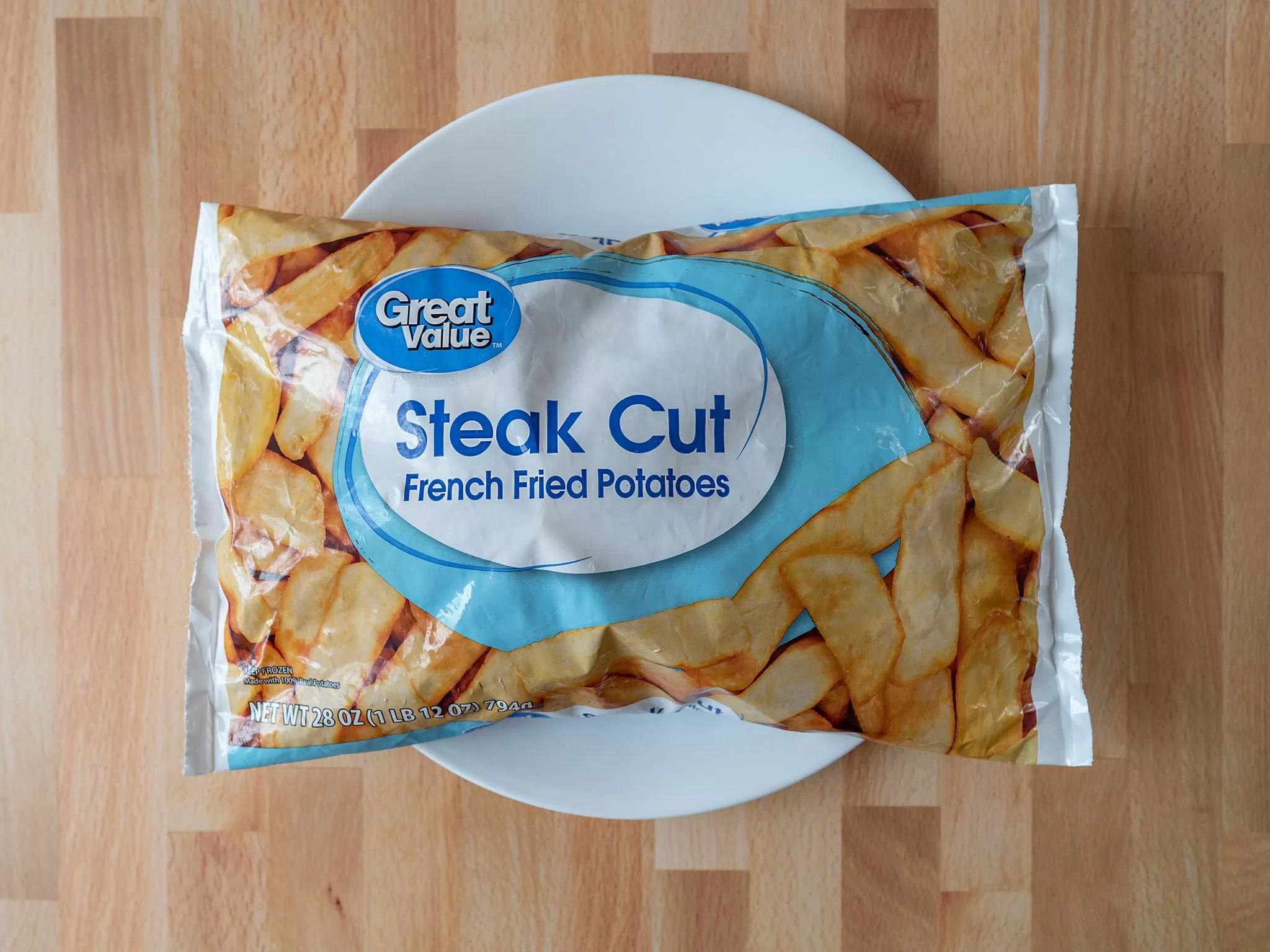 Great Value Steak Cut French Fried Potatoes
