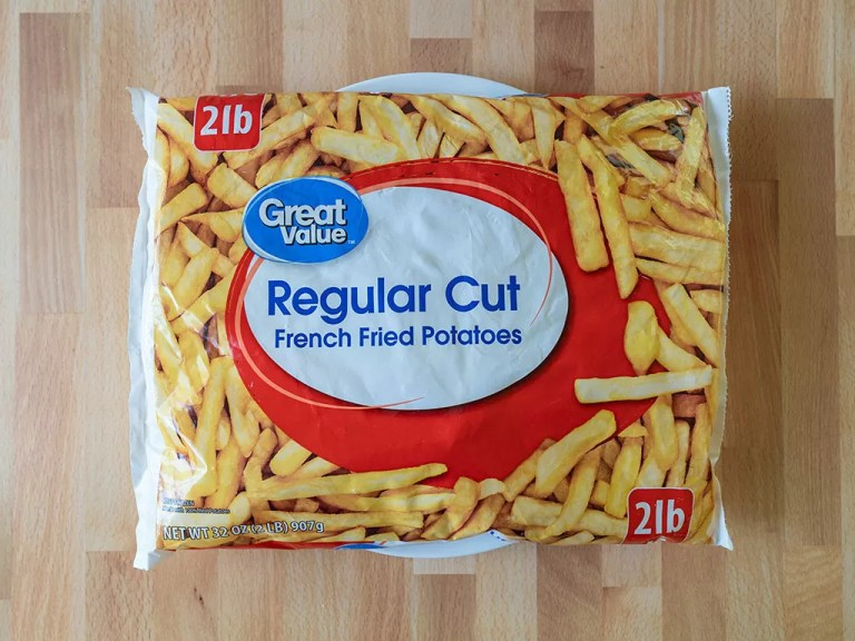 How to air fry Great Value Regular Cut French Fried Potatoes