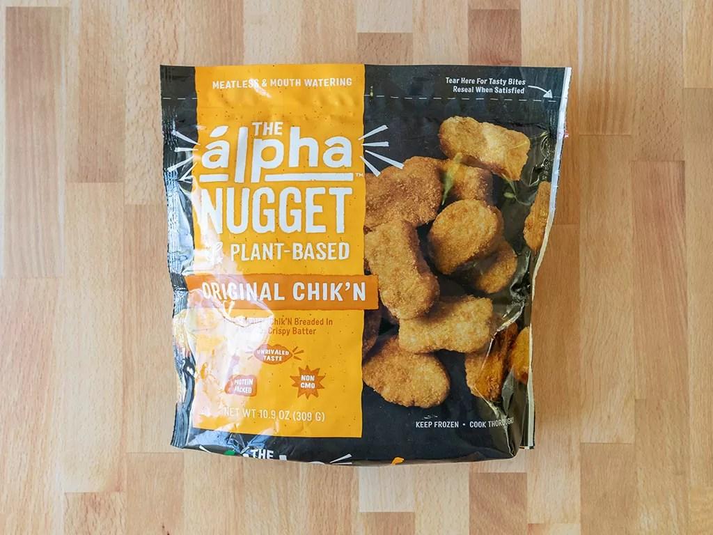 Alpha Plant-Based Original Chik'N Nuggets