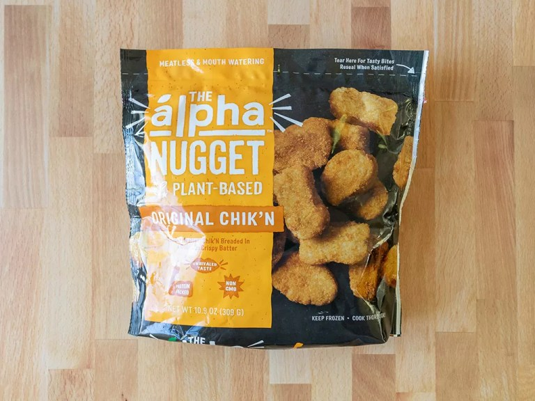 How to air fry Alpha Plant-Based Original Chik'N Nuggets