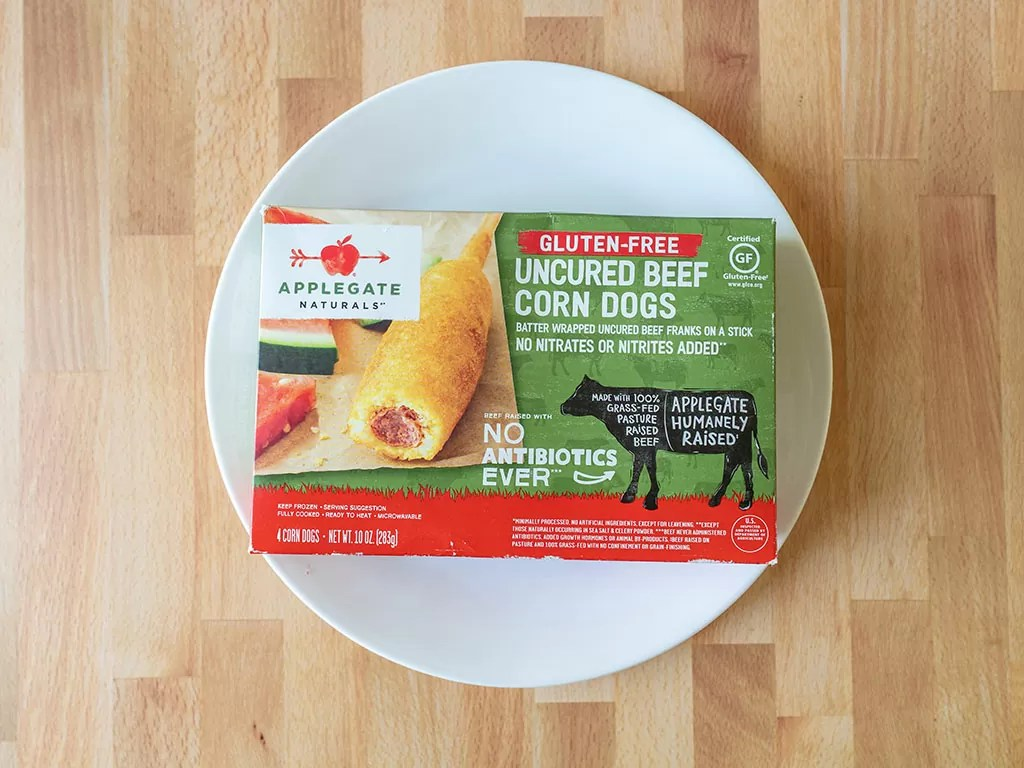 Applegate Uncured Beef Corn Dogs