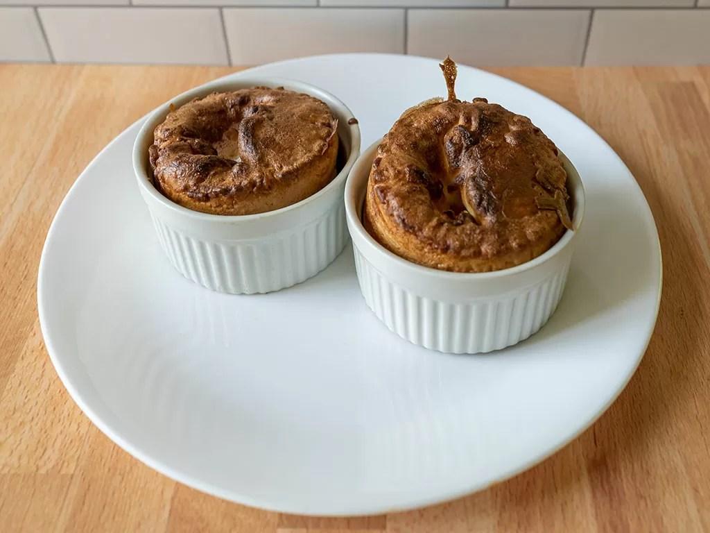 Ramekins used for making Yorkshire puddings