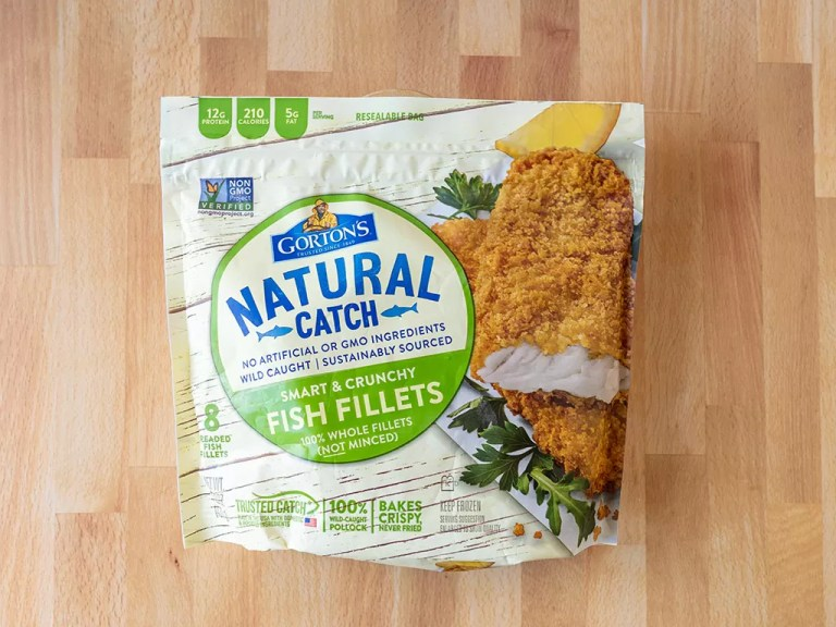 How to cook Gorton's Natural Catch Fish Fillets in an air fryer