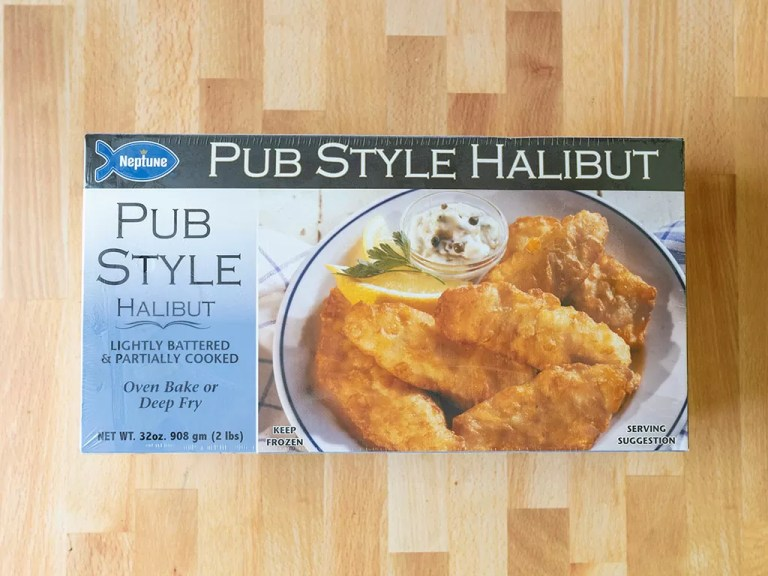 How to air fry Neptune Pub Style Halibut